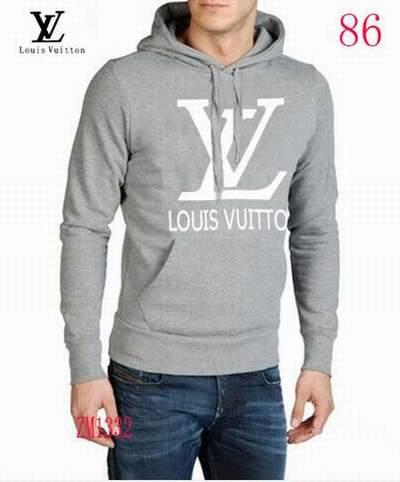 sweat Louis Vuitton blanc et noir,sweat Louis Vuitton homme gris,sweat  shirt capuche 4d52bdcd3aa